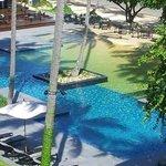 Pool near the bar