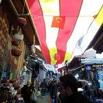 Walking through a Turkish Market