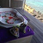 Le SPA O'Resort avec sa vue en formule Full Magic.