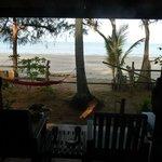 Aussicht vom Beachbungalow