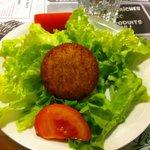 Vieux Bruges sur salade