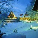 La Cheneaudière sous la neige
