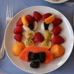 fruitplate at Fairways guesthouse
