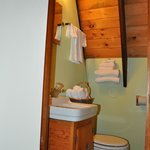 A-Frame Suite bathroom with shower