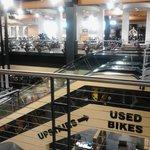Area Activity at Harley Davidson Store