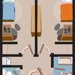 Floor Plan - Arts & Science Residence