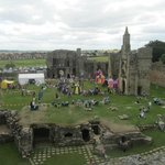 Castle grounds during a Knights fun weekend