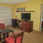Living area / Work desk