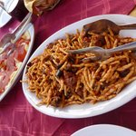 Fusilli with chingiale or wild boar