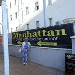 Entrance to Manhattan