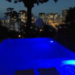 Pool overlooking downtown Rio