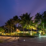 Aore Island Resort by night
