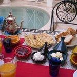 Petit déjeuner oriental^^