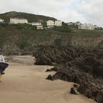Watersmeet Hotel from the beach
