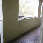 Cobblestone hallway