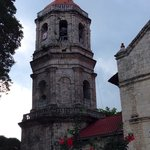 The beautiful church in Dalaguete was temporarily closed because of its cracks during the 7.2 Ma