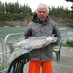 Rick's 11 pound silver salmon