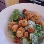 squid caesar salad (ochi beach club)