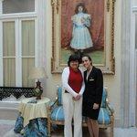 Esposa Kleyde com Maitre Rita (Café da manhã)