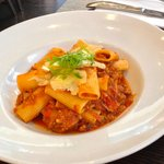 Spicy pork pasta