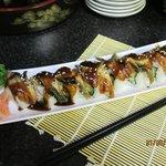 Unagi (Eel) Norimaki Sushi