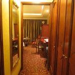 room from main door, very heavy furnitures
