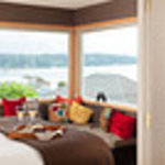 View from your bed in the Cottage