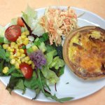 Savoury Tartlet with side salad