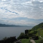View of castle and Lochness, looking west!