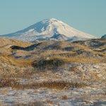 Volcano Hekla, 40 km away