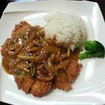 Katsu chicken & curry