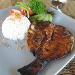 grilled snapper with sambal matah
