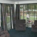 The Guest Lounge. View to garden