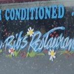 Outdoor Window decor Mr. Ribs     Main St. SW, Neepawa, Manitoba