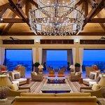 A Lobby with Caribbean Views