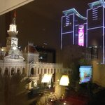 HO CHI MIN CITY- night view from REX