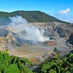 Las Poas volcano national park