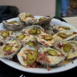 loaded oysters