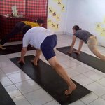 Guest from Rusia join for Bali yoga
