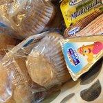 Productos de Carrefour en el desayuno. No hay fruta, ni yogures, ni cereales, ni embutido...