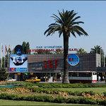 Across from Izmir Fair