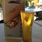 cold beer at the rio