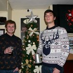 Josh & James in their Christmas Sweaters !!