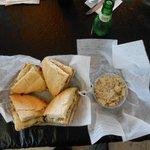 Muffaletta;  HUGE portion!