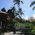 Entrance, Bali Garden