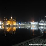 Golden Temple - Night View.