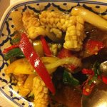 Fried Squid w Chillies