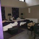 Family sized bedroom