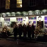 Carol singers with lots of Christmas cheer on Thursday 5 Dec.