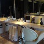 espace bureau - salle de bain